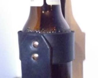 Leather Beer Holster/ Holder