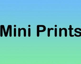 Mini Prints (3) by Coral Briglia