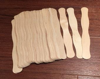 Wavy Paddle Fan Sticks