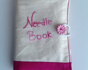 Embroidery Needle Book