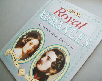 Queen Victoria and Prince Albert Great Royal Romances Magazine Souvenir