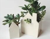 Little Ceramic House Duo