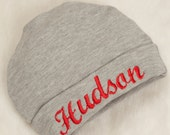 Embroidered Infant Baby Boy Hat Cotton Personalized Baby Boy Hat
