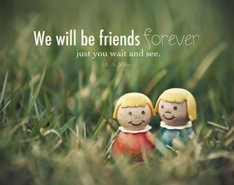Friends Forever Photo BFF Best Friend Bridesmaid Gift Retro Children Toy Photo