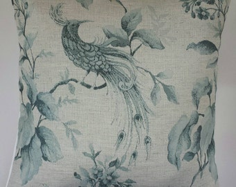 "Cushion Cover in Next Phoenix Bird Blue 14"" 16"" 18"" 20"""
