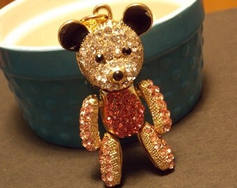 Teddy Bear Statement Necklace