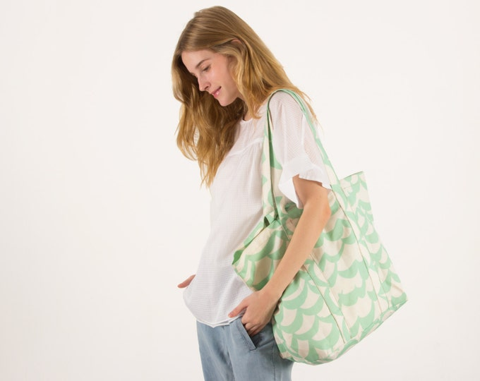 Carryall Market Tote - High Tide