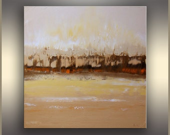 Modern Minimalist Abstract Oil Painting, ORIGINAL Oil on Canvas, Art Deco, Landscape Painting ORIGINAL Art Painting, Abstract Painting, TR