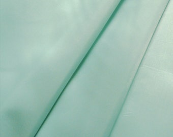 Mint Pastel Green anti static Lining Fabric 150cm wide -  Sold by the metre