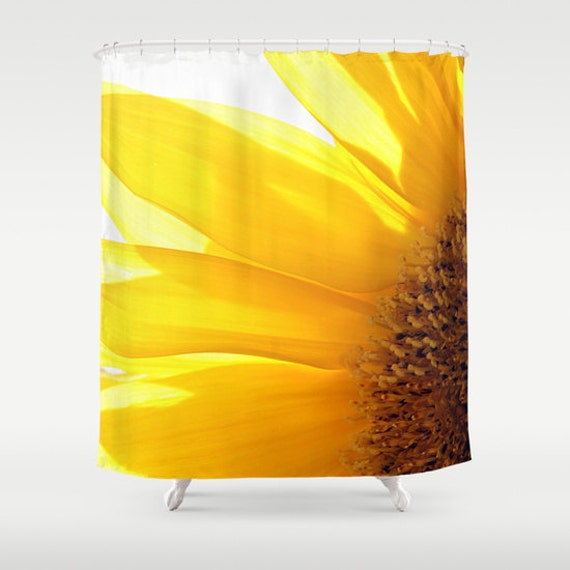 Sunflower 2 Shower Curtain Bathroom Decor Bath Curtain