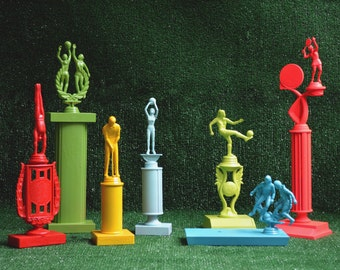 Colorful Trophies