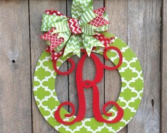 Christmas Wreath Wood Wreath Home Decor Wedding Gift Wall Decor Front Door Hanger