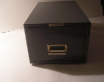 Steelmaster Midcentury File drawer