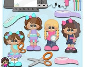 Crafting Cuties  Clip art  Clipart Graphics  Commercial Use