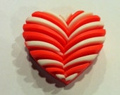 Art Deco Heart Soap