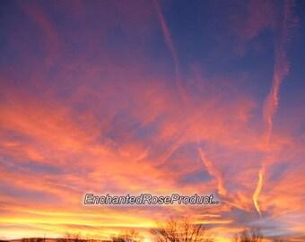 Sunset Photographic Print ~ Fine Art Photography ~ Trending Home Decor