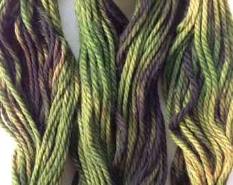 Gradient Camo Superwash Wool Yarn