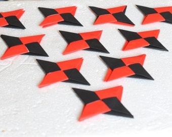 Origami Ninja Stars that Transform (Set of 10)