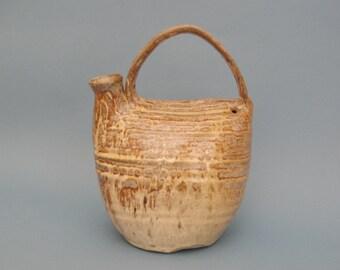 Studio pottery jug vase 1970s
