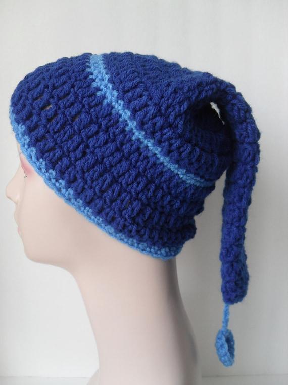 Blue Stocking Cap 36