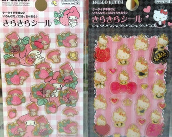 Japanese Stickers (Pick 1): My Melody or  Hello Kitty