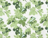 Peter Dunham Fig Leaf Pillow Cover - Original on White - Ready to Ship!