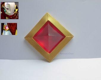 The Legend of Zelda Skyward Sword Ghirahim's red gem