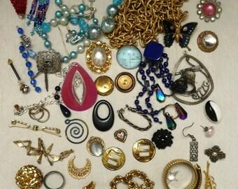 Jewelry Destash-Parts,Pieces,Pendants,Chains,Buttons
