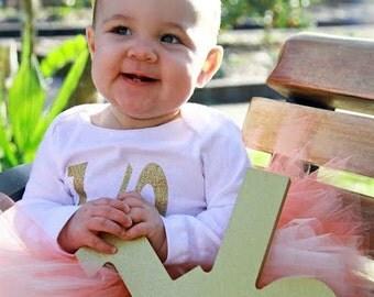 Baby Peach Tutu Skirt