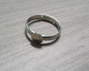 Silver Ring Blank-Adjustable Ring Blanks-Ring Settings-Silver-Blank Rings 100pcs Wholesale Rings