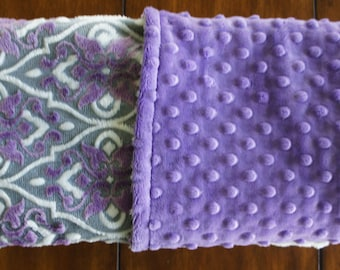 Minky Blanket - Mar Bella - Cuddle Valencia - Double Sided Minky