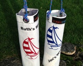 Sailcloth Wine Carrier
