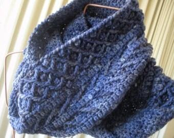 Symphony Infinity Scarf or Cowl Crochet Pattern PDF