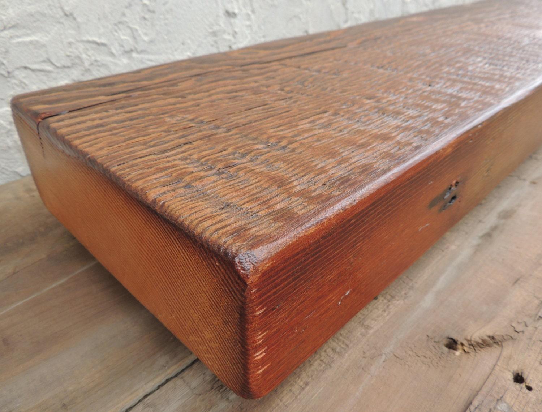 rustic reclaimed cedar fireplace mantel or mantel