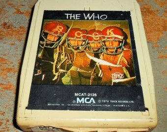"""The Who, 8 Track Tape, """"Odds and Sods"""",  8 Track Tape Cartridge, Stereo Tape Cartridge, 8 Track, Eight Track"""