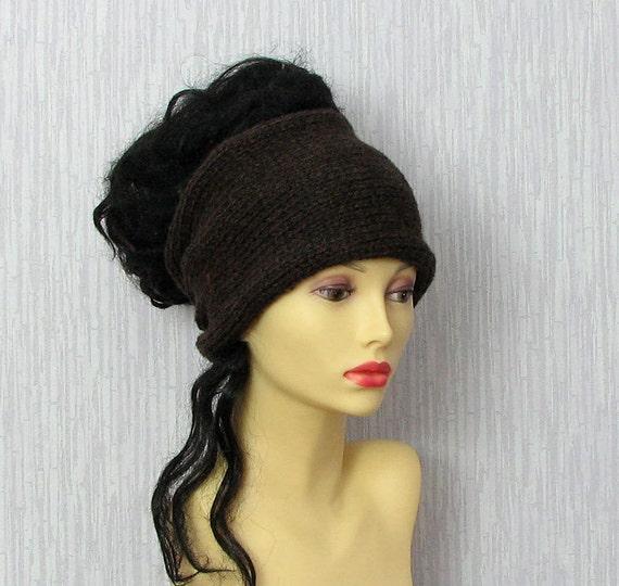 Items similar to Knitted Men Headband/Hair Wrap / Ear ...