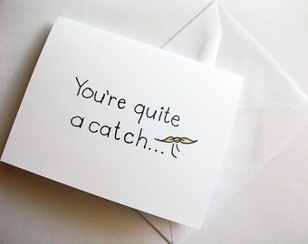 You're Quite A Catch- Magical Wizarding Snitch Greeting Card