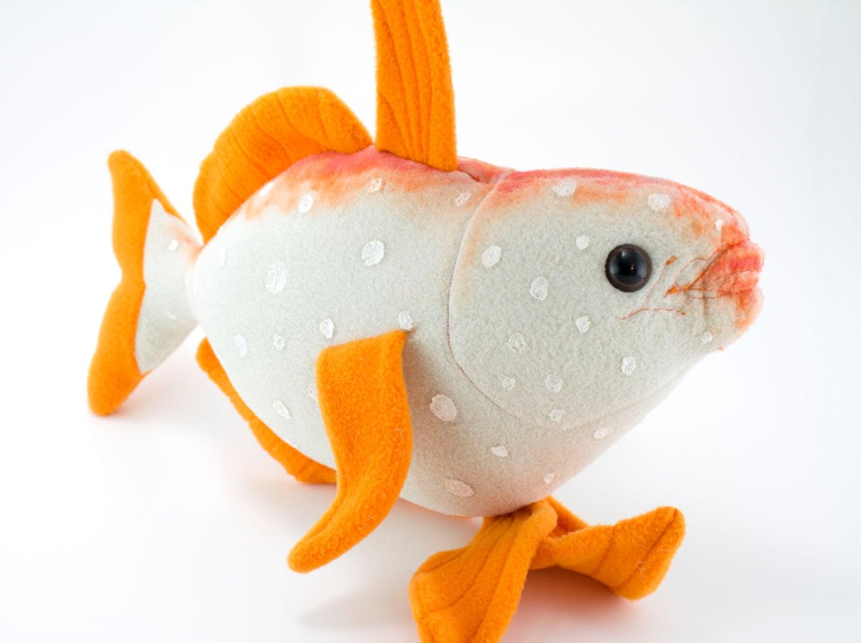 Opah warm blooded fish stuffed animal plush toy for Fish stuffed animals