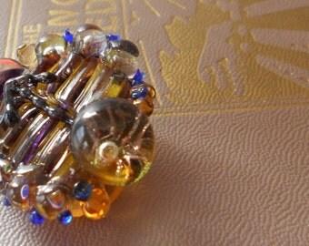 Monte Verdi Lampwork Beads- Handmade Glass Beads - Direction