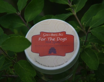 HOT SPOT! A natural treatment for those itchy, raw spots