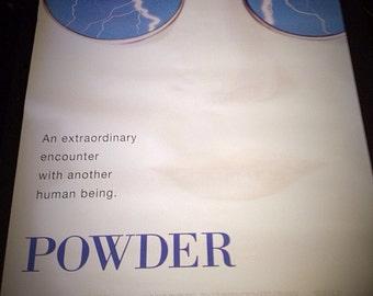1995 Powder - Original Movie Poster - 1 Sheet 27x40 ( scarce ) 2 sided