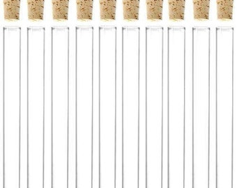 Pack of 50 GLASS TEST TUBES