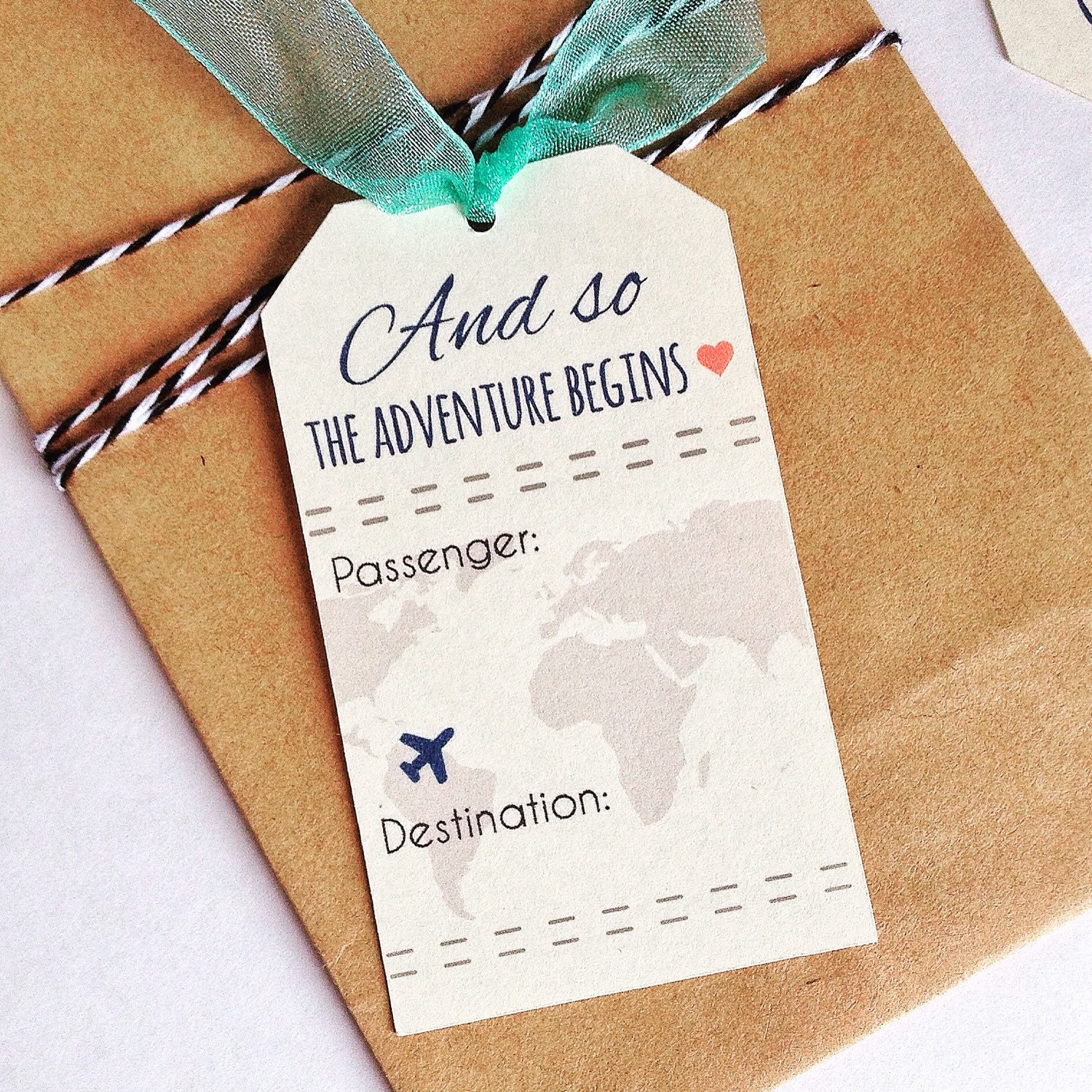 INSTANT DOWNLOAD Travel Wedding Theme Place Card Favor Hole