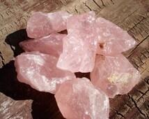Raw Rose Quartz, Rose Quartz, Rose Quartz Crystal, Healing Crystal, Healing Crystal and Stones, Natural Rose Quartz, Meditation Crystal