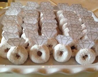 READY TO SHIP 1 Dozen (12) Donut Diamonds