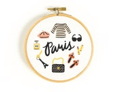 Paris Lover Art Hoop