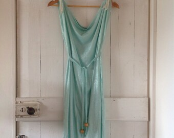 Womens Dress in Mint Green.size 12 to 14.Sale