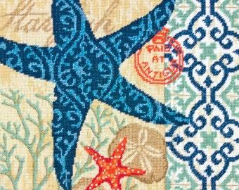 Starfish Needlepoint Kit