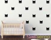 Batman wall decals, Batman decal, Batman wall sticker, nursery wall decal, wall decals, wall stickers, vinyl wall decal stickers  x40