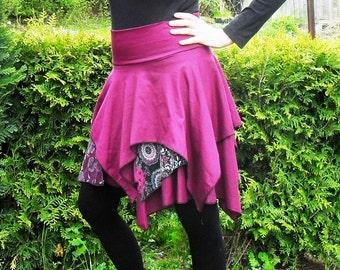 UNIQUE  Layering-skirt